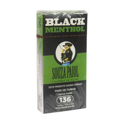Cigarro de Palha Souza Paiol Black Menthol - Unidade
