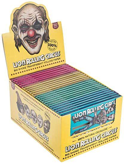 Seda Celulose Lion Rolling Circus King Size - Display