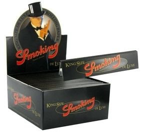 Seda Smoking Preta Deluxe King Size - Display