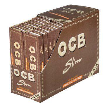 Seda OCB Unbleached + Filter Slim King Size - Display