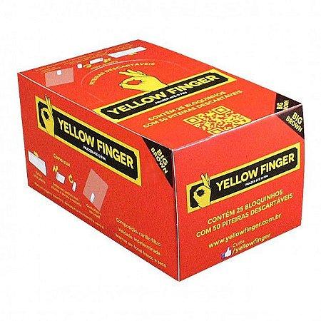 Piteira Yellow Finger Brown Big 20mm - Display