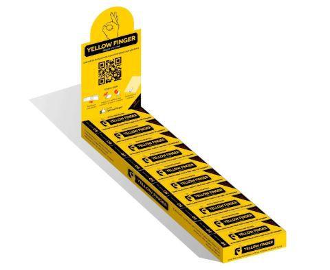 Piteira Yellow Finger 15mm - Display