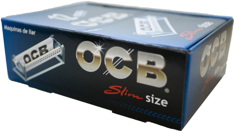 Máquina OCB Cristal Slim Manual - Display