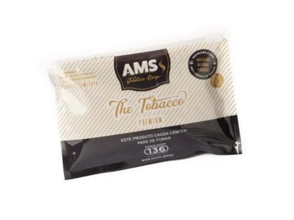 Tabaco AMS The Tobacco Premium 25g - Unidade