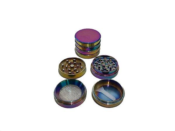Dichavador Metal Multicolor 4 Partes - Unidade