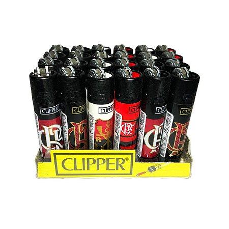 Isqueiro Clipper Flamengo Grande - Display