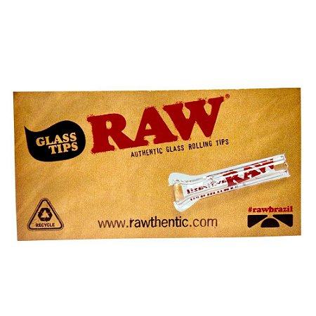 Piteira de Vidro Raw Chata - Unidade