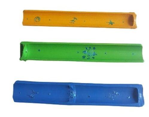 Incensário Canoa Bambu Color - Unidade
