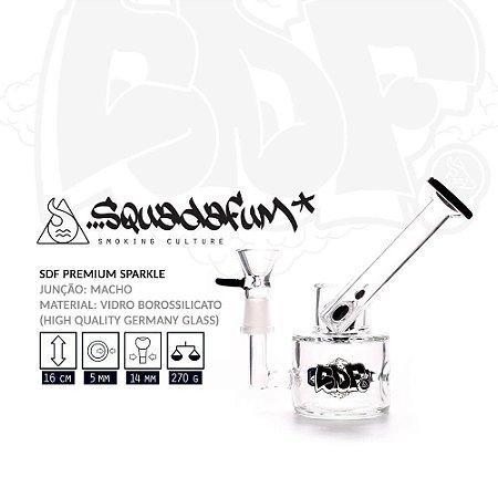 Bong Vidro Squadafum Premium Sparkle 7012 - Unidade