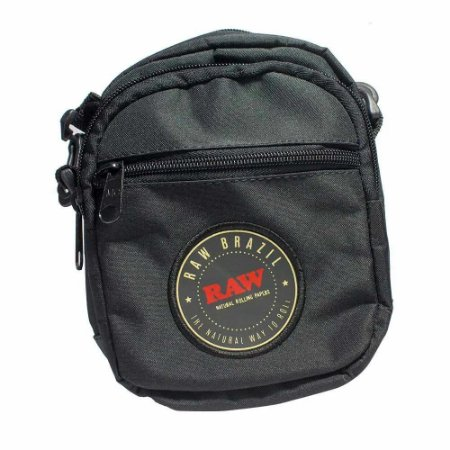 Shoulder Bag Raw Preta - Unidade