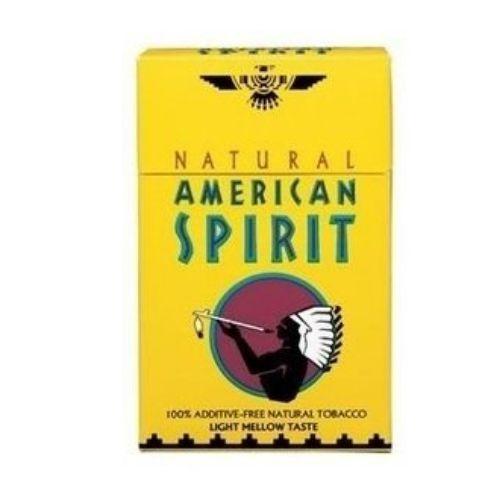 Cigarro Americam Spirit Amarelo - Maço