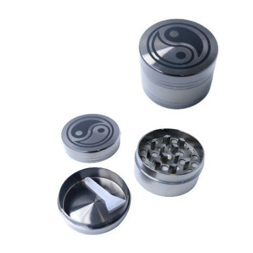 Dichavador Metal Yin Yang Chumbo 3 Partes - Unidade