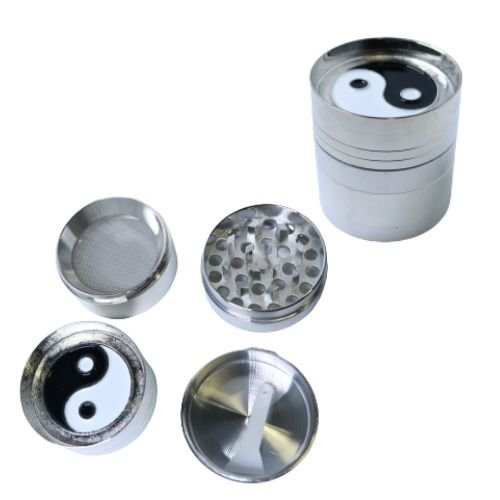 Dichavador Metal Yin Yang 4 Partes - Unidade