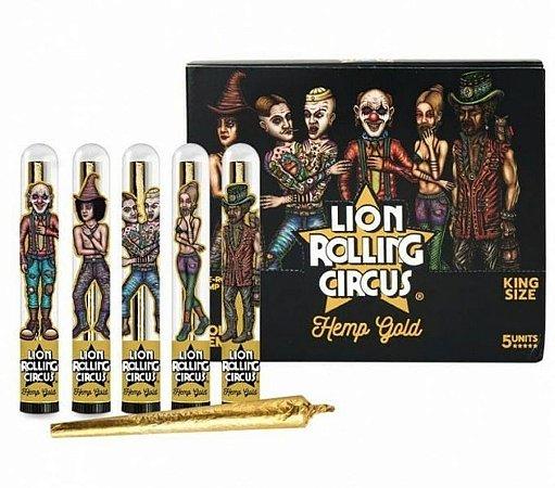 Seda Blunt Cone Lion Rolling Circus Gold - Display 5 un