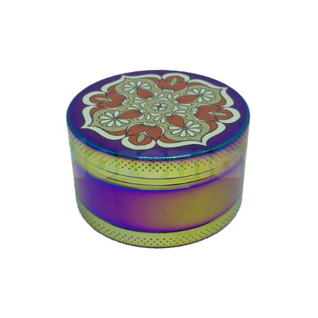 Dichavador Metal Grande Mandala Multicolor 3 Partes - Unidade