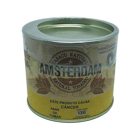 Tabaco Amsterdam Lata 50g - Unidade