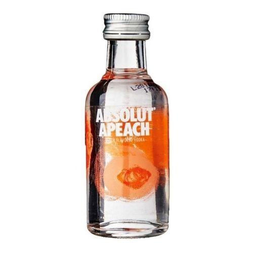 Vodka Absolute Apeach Miniatura 50ml - Unidade