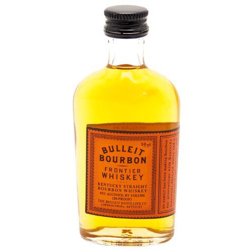 Whisky Bourbon Bulleit Miniatura 50ml - Unidade