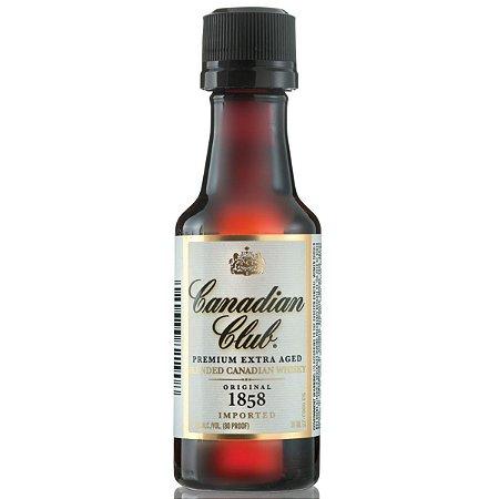 Whisky Canadian Miniatura 50ml - Unidade
