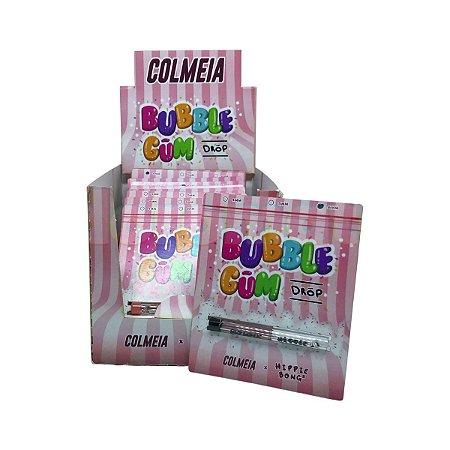 Piteira de Vidro Colmeia X Hippie Bong Bubblegum (4, 5 e 6mm) - Display 18 un