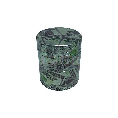 Dichavador Alumínio Dolar 4 Partes - Unidade
