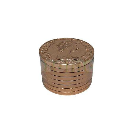 Dichavador Metal Moeda Dolar Canadense 3 Partes - Unidade