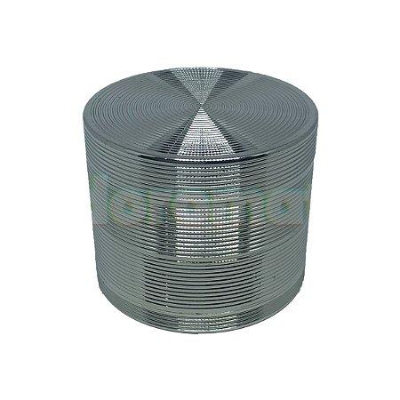 Dichavador Metal Grande Vinil 4 Partes - Unidade