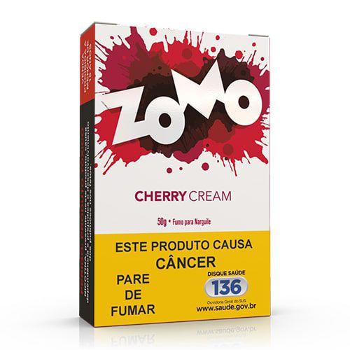 Essencia Narguile Zomo Cherry Cream 50g - Unidade