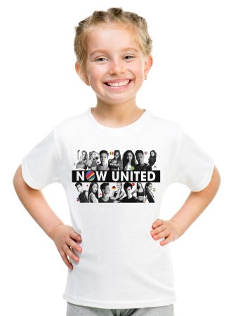 Camiseta Now United Integrantes Logo Camisa Infantil Grupo Pop Music Tshirt Moda Geek Nerd Personalizada Menino Menina Unissex