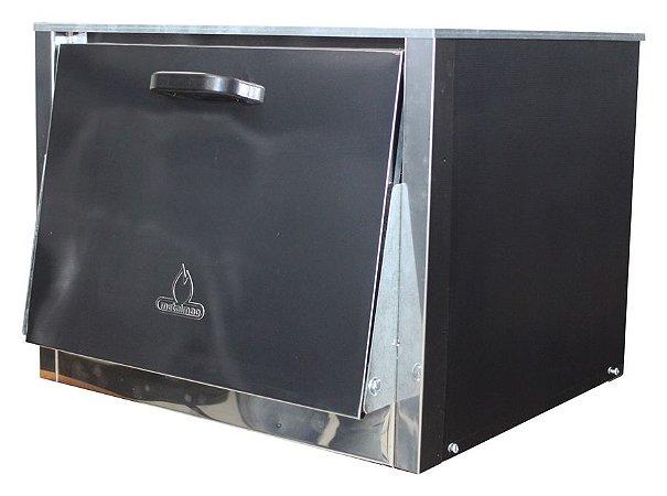 Forno para Fogão Industrial S2000 Paralelo 48x48x30 Metalmaq