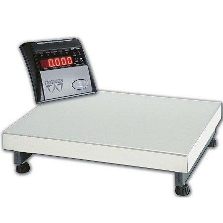 Balança Digital Comercial Plataforma 300kg DP 300 Ramuza