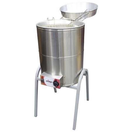 Fritadeira Elétrica Industrial Reativada Água e Óleo Skymsen 8000W FCR-N