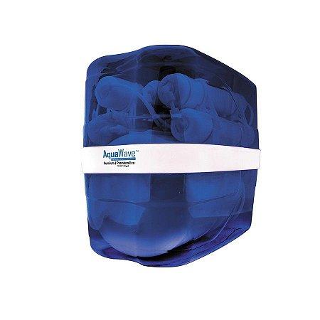 Sistema de Filtração por Osmose Reversa de 5 Estágios 75GPD Aquawave com Tanque Integrado de 8 Litros Global Water Solutions