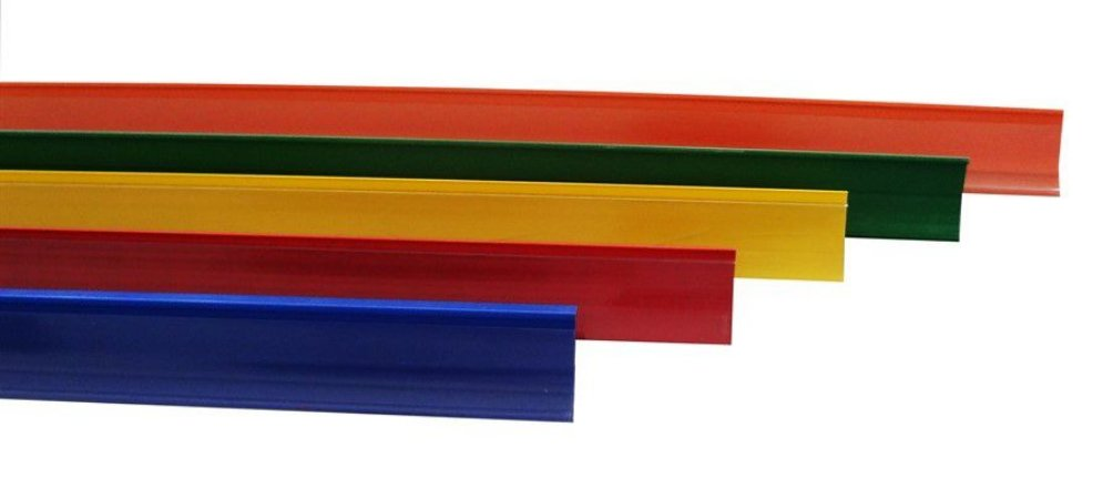 Porta Etiquetas 92cm com Acrílico para Gôndolas Amapá