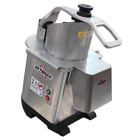 Processador de Alimentos Industrial Inox Skymsen com 6 Discos Diâmetro 203mm 0,5CV PA-7