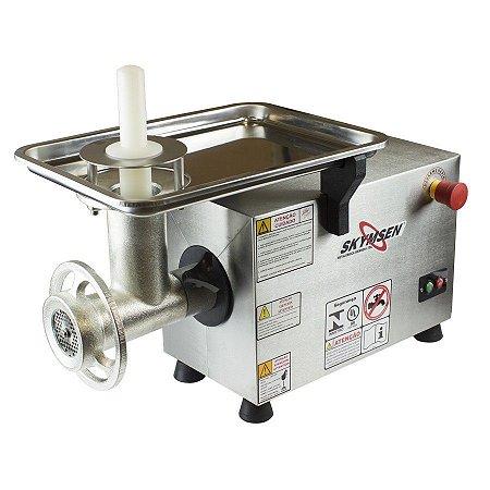 Picador de Carne Industrial Inox Boca 10 Skymsen 0,5CV PS-10
