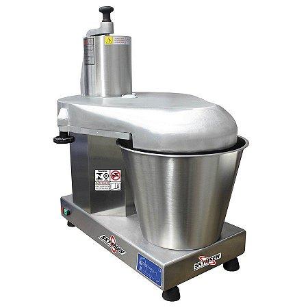 Processador de Alimentos Industrial Inox Skymsen com 6 Discos Diâmetro 429mm 1,0CV PA-14