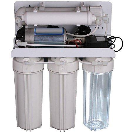 Sistema de Filtração por Osmose Reversa de 5 Estágios 75GPD Global Water Solutions