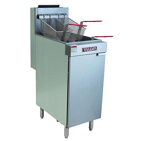 Fritadeira Industrial a Gás 120.000 btu/h 28 Litros Vulcan LG400