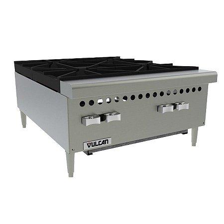 Fogão Hotplate A Gás 4 Bocas Queimadores Vulcan VCRH24