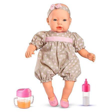 Boneca Bebê - Claire com Acessórios - Roma Jensen