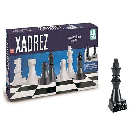 Jogo Xadrez Para Iniciantes - Nig Brinquedos - 1060