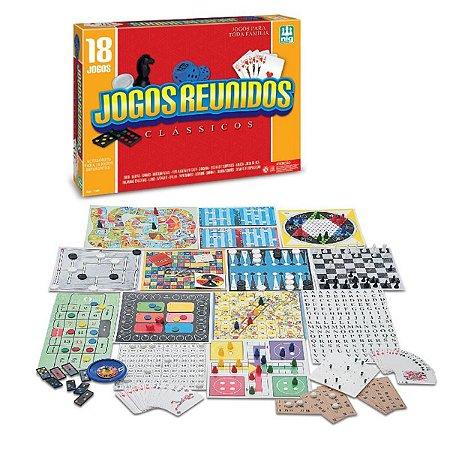 Jogos Reunidos Clássicos Nig Brinquedos - 1164