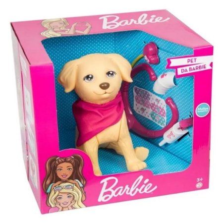 Cachorrinho Pet Da Barbie - Veterinária 1250 - Pupee