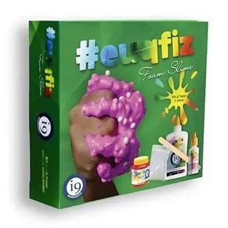 Kit Slime Foam Slime Euqfiz I9 Brinquedos Bri0219