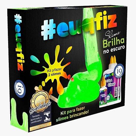 Kit Slime Brilha No Escuro 2 Slimes i9 BRI0239