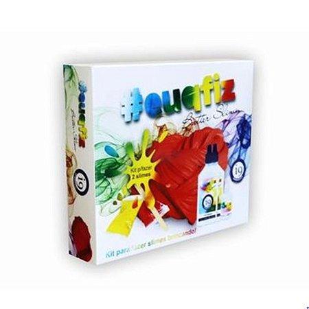 Kit para Fazer Slime Butter 2 Slimes Euqfiz I9 BRI0225