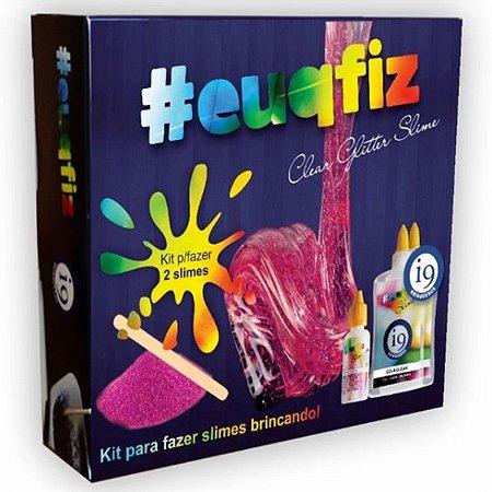 Fábrica de Slime Clear Glitter Kit 2 - euqfiz - BRI0226