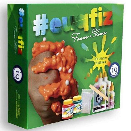 Conjunto de Slime - EUQFIZ - Kit 2 - Foam Slime - I9 BRI0223