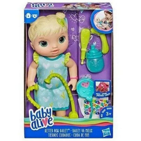 Boneca Baby Alive Loira - Cuida De Mim - Hasbro E5834